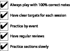 efficient-practice-checklist