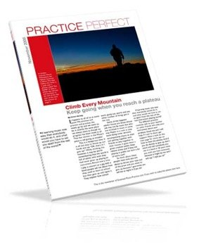 Perfect Practice e-zine image