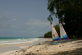 Beach in Mombassa