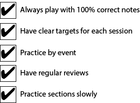efficient-practice-checklist
