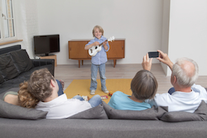 encourage performance for young musicians