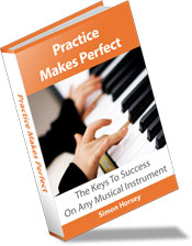 practice makes perfect music practice book
