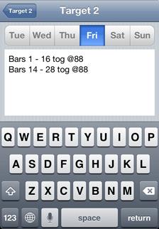 iOS Music Practice App daily practice tasks - Friday