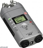 Zoom H4 digital audio recorder